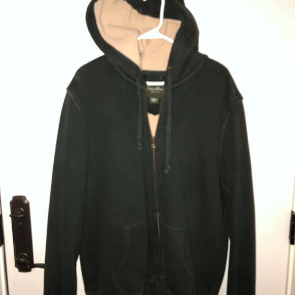 Eddie Bauer Sherpa lined hoodie size tall large